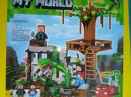 Конструктор My World Lele Оглядовий майданчик на дереві 252 деталі