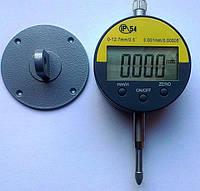 Цифровий індикатор годинникового типу ИЧЦ 0-12,7 мм (0,001 мм) з вушком у водозащитном корпусі IP54