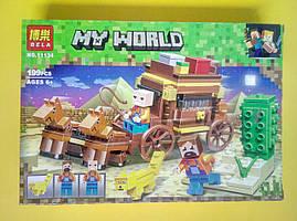 Конструктор My World Bela Погоня 199 деталей