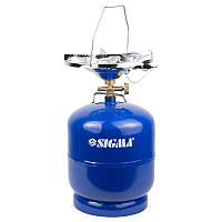 Комплект газовий 8л, кемпінг з пьезоподжигом Comfort SIGMA (2903121)