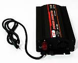Інвертор перетворювач напруги UKC 1300W з Зарядкою 12V в 220V, фото 4