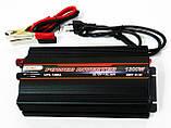 Інвертор перетворювач напруги UKC 1300W з Зарядкою 12V в 220V, фото 8