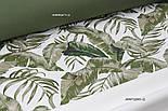 Однотонна тканина Duck темно-зеленого кольору, фото 6