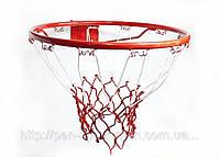 Кольцо баскетбольное арт.С1816-1 диаметр 46см +сетка