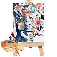 Картина за номерами 40 * 50 см Східні фарби ТМ Ідейка (КНО2470)