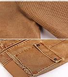 JP original Мужская байкерская куртка PU кожа, фото 6