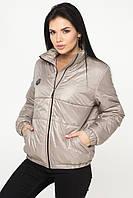 Жіноча демісезонна куртка (Сірий)