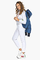 Оригінальна аквамаринова куртка жіноча модель 26420 46 (XS), фото 3