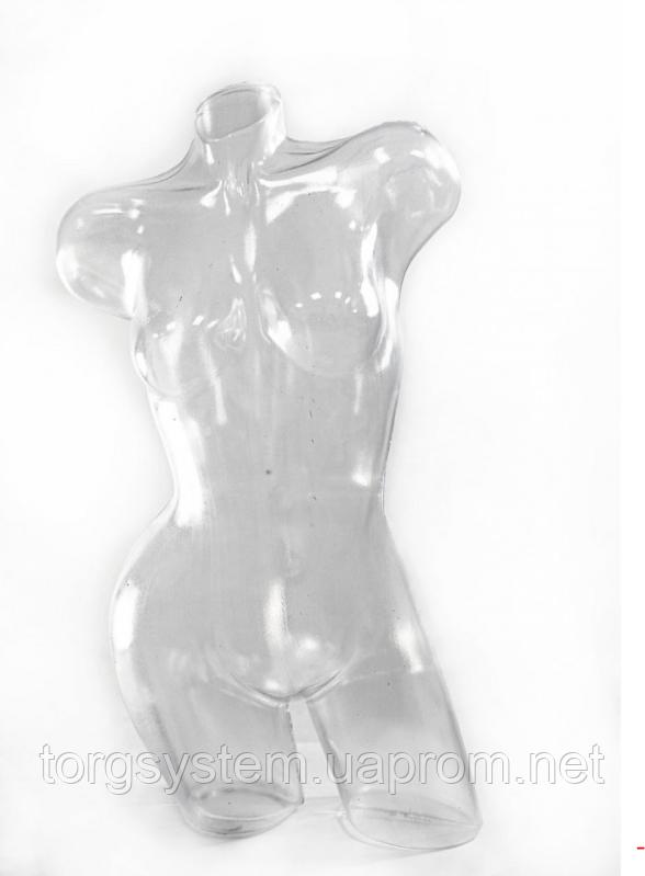 Манекен пластиковий Венера вигнута ПРОЗОРА