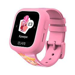 Детские часы-телефон с GPS/LBS/WIFI трекером FIXITIME LITE Pink (ELFITL-PNK)