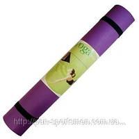 Коврик для фитнеса YG-2775 PVC 5мм