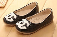 Детские летние туфли на девочку CHANEL