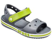 Сандалії Crocs Kids Bayaband Printed Sandal c6 Сірий салатовий