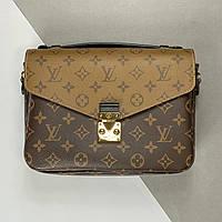 Жіноча сумка Louis Vuitton Pochette Metis Monogram Reverse (Луї Віттон Яскрава Метис) арт. 03-02