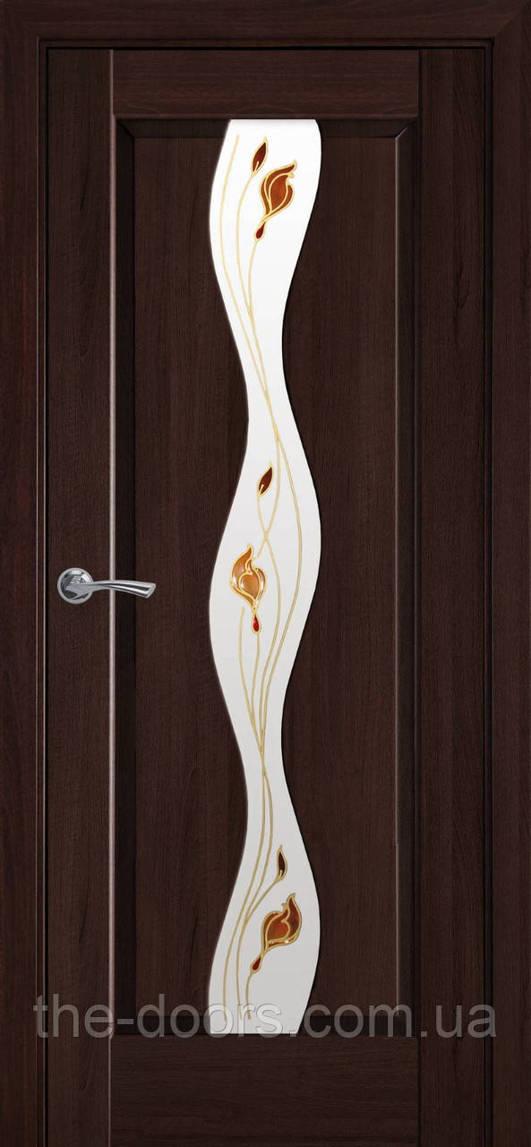 Двери Новый Стиль Волна Р1 с рисунком