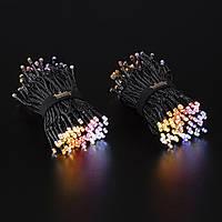 Smart LED Гирлянда Twinkly Strings AWW 250, Gen II, IP44, длина 20м, кабель черный (TWS250GOP-BEU)