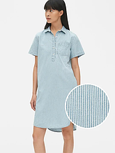 Женское джинсовое платье GAP размер XS платье-рубашка летнее оригинал