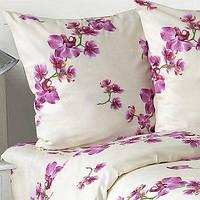 Комплект постельного белья Орхидея (белорусская бязь) евро