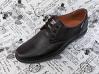 Batich CLASSIC мужские кожаные фирменные туфли мокасины на шнурках
