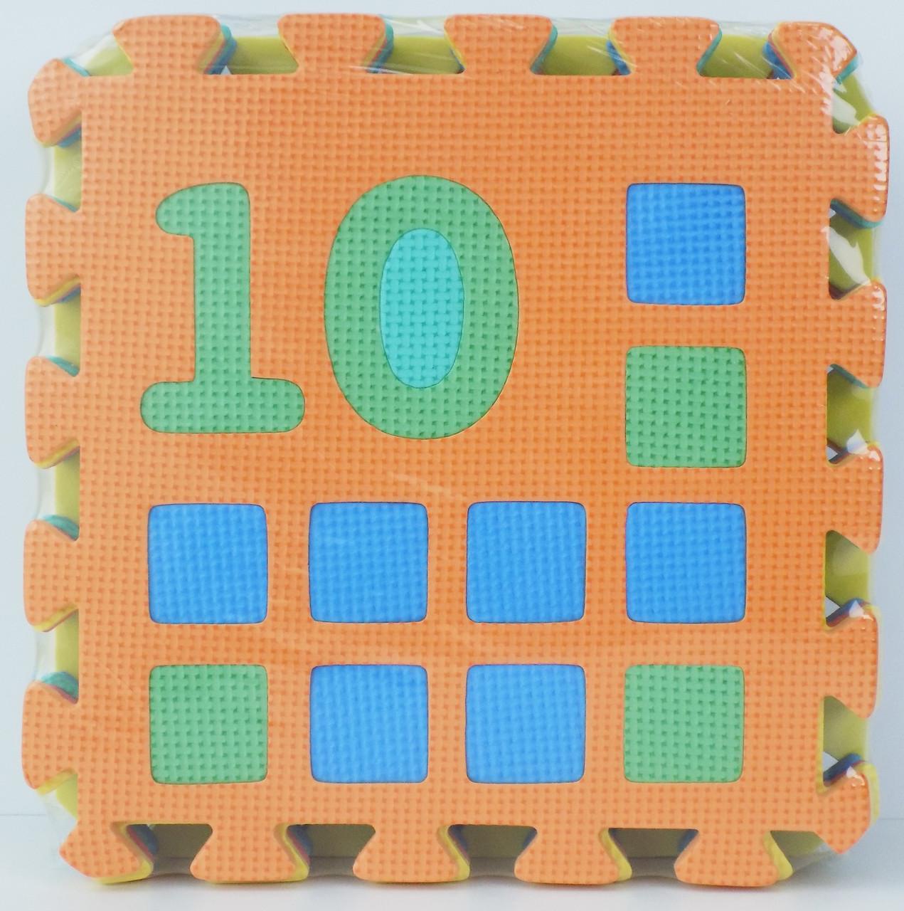 Детский развивающий коврик для детей Мозаика Цифры