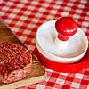 Ручний прес для гамбургерів і котлет пластик Browin 11 см, фото 3