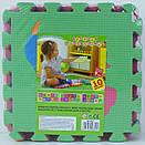 Детский развивающий коврик для детей  Мозаика Птицы, фото 2
