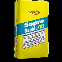 Sopro Rapidur B5 – Спеціальне в'яжучий кошти для виробництва швидкотверднучих стяжок, 25 кг.