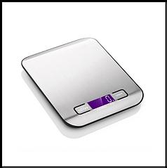 Кухонні ваги з нержавіючої сталі, Etekcity  до 5 кг, електронний ЖК-дисплей