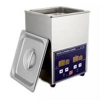 PS-10A ультразвукова ванна 2.0 л, 70Вт, таймер 1-30хв., металевий корпус, Jeken