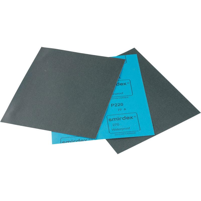 Папір наждачний водостійка Smirdex P220 (P220)