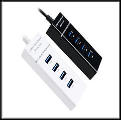 4-портовый USB-концентратор высокоскоростной 5 Гбит / с USB 3.0Splitter HUB4 port 3.0