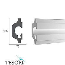 Молдинг TesoriKD 119 (1.15м), Светодиодные системы непрямого освещения из пенополистирола.
