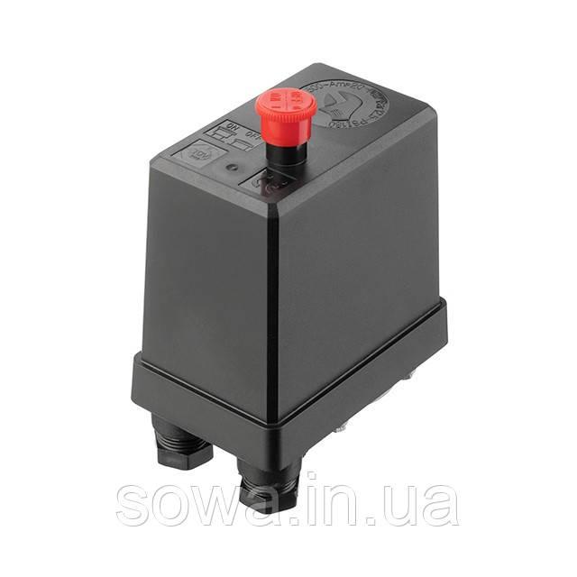 Прессостат 380В(блок автоматики компрессора) INTERTOOL PT-9096