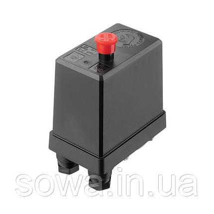 Прессостат 380В(блок автоматики компрессора) INTERTOOL PT-9096, фото 2