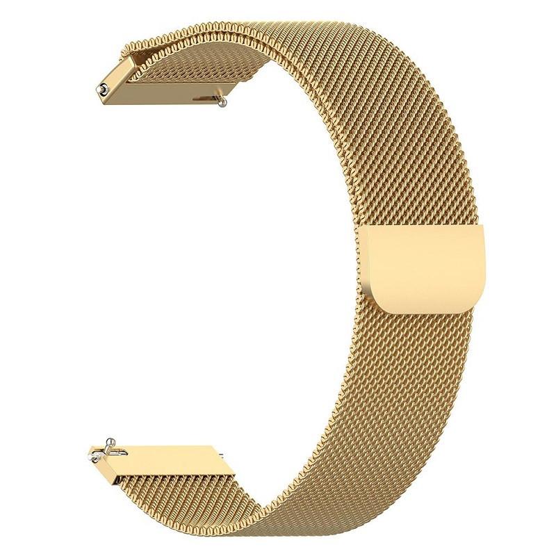 Ремінець для годинника Melanese design bracelet Універсальний, 20 мм Gold