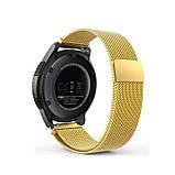 Ремінець для годинника Melanese design bracelet Універсальний, 20 мм Gold, фото 4