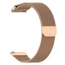 Ремінець для годинника Melanese design bracelet Універсальний, 22 мм Rose gold