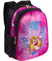Школьный рюкзак ранец ортопедический для девочек 1, 2, 3 класс Портфель полу каркасный для школы Фея