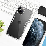 "Nillkin Apple iPhone 12 Pro Max (6.7"") Nature TPU Case White Силіконовий Чохол, фото 4"