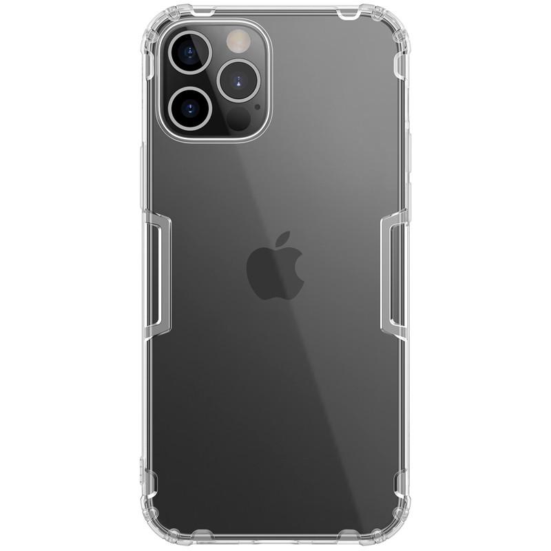 "Nillkin Apple iPhone 12 Pro Max (6.7"") Nature TPU Case White Силіконовий Чохол"