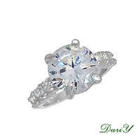 Серебряное кольцо Жозель