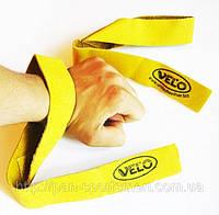 Лямки для становой тяги VL-24001 кожа