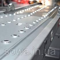 Лестница алюминиевая мультифункциональная трансформер INTERTOOL LT-0029, фото 2