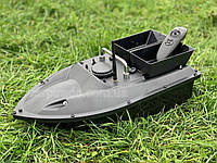 Карповый кораблик New Flytec Black (2 бункера). Оригинал.+ ПОДАРОК