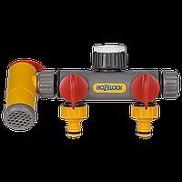 Разделитель потоков HoZelock 2250 двухпутевой с краном Flowmax