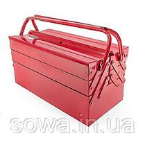 Ящик для инструментов металлический INTERTOOL HT-5045, фото 3