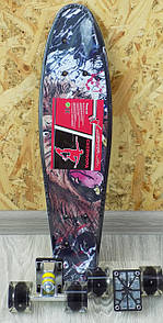 Скейтборд пенні пластиковий MS0749