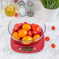 Весы кухонные MAGIO MG-290N Red