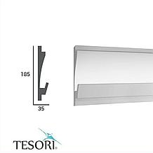 Молдинг TesoriKD 406 (1.15м), Светодиодные системы непрямого освещения из пенополистирола.