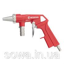 Пистолет пескоструйный пневматический со шлангом INTERTOOL PT-0706, фото 3